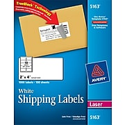 Avery Shipping Labels With TrueBlock™Technology
